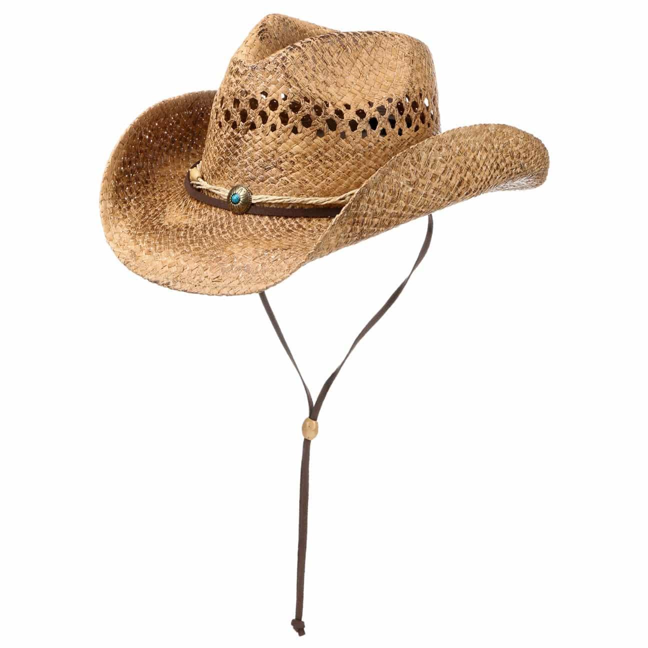 Sacramento Raffia Cowboyhut by Conner