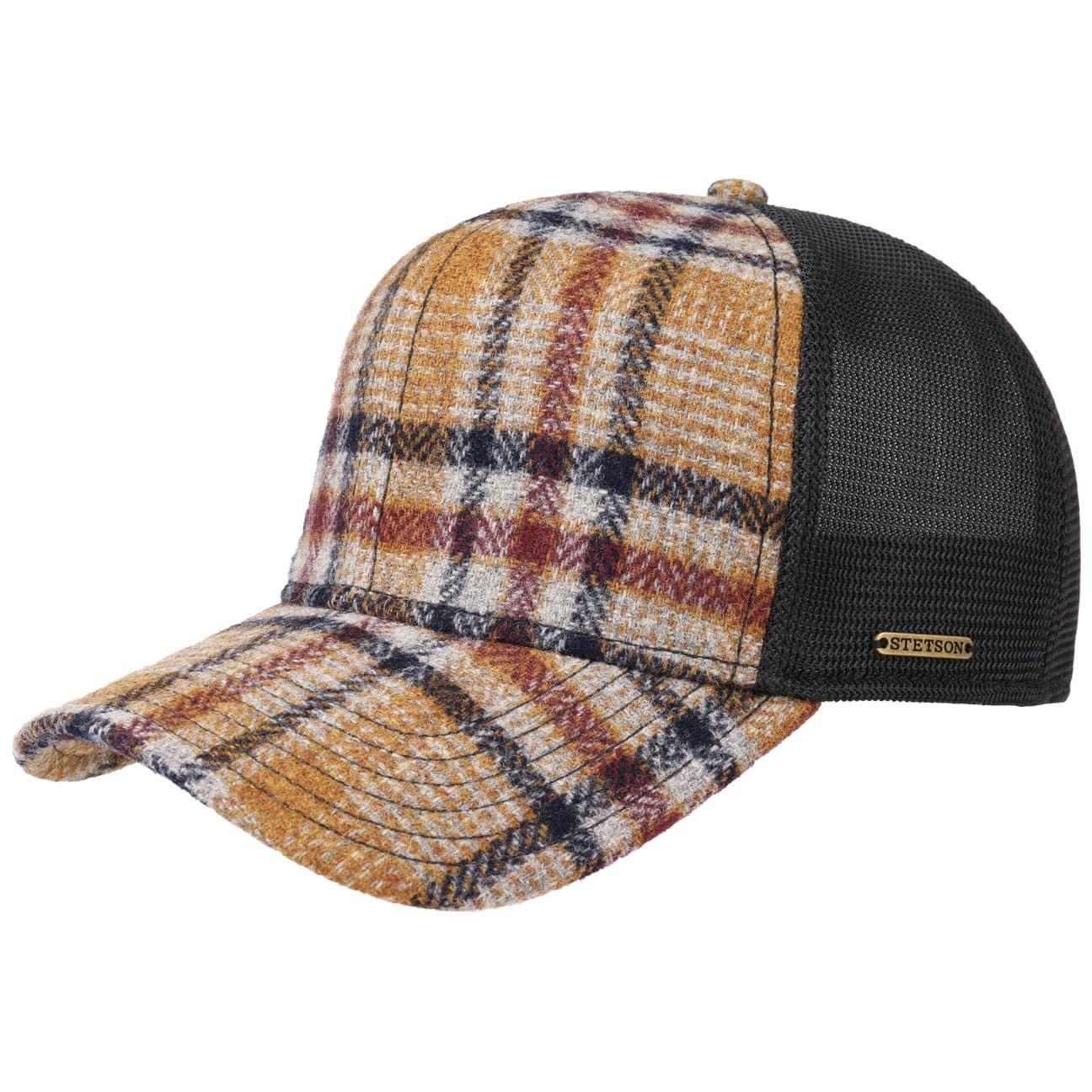 Woolrich Check Truckercap by Stetson