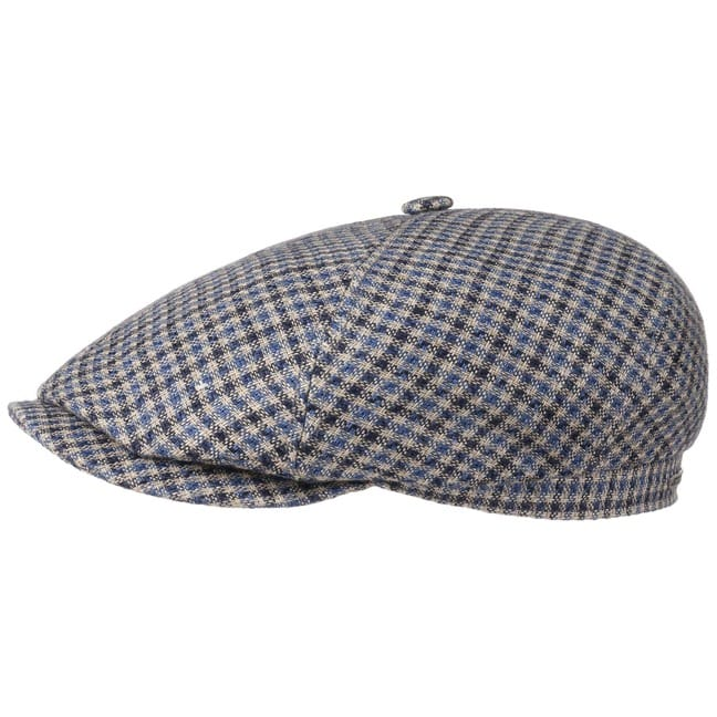 6 Panel Varysburg Check Schirmmütze by Stetson
