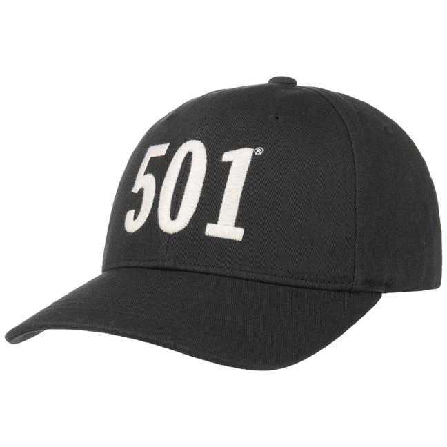 Cotton 501 Baseball Cap By Levis Passt Zum Sommerleichten Und Sportlichen Outfit HUT