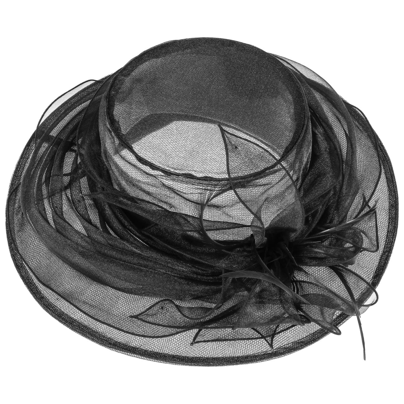 MCBURN Fatima Anlasshut Hüte Damen Anlasshüte Stoffhut Flapper Damenhut